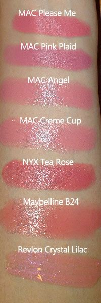 Naughty and Nice: The Pink Nude Lip — There's... - The Makeup Box
