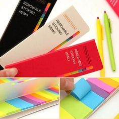 Creative Stationery Candy Color Sticky Notes Paper Memo Pad School Diary Notepad Office & School Supplies-in Memo Pads from Office & School Supplies on Aliexpress.com   Alibaba Group