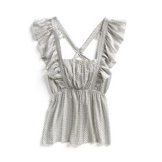 Stitch Fix Spring Stylist Picks: Ruffle strap blouse I'd love this in my next fix!!!!!! I could see this matching everything in my closet, LOVE!