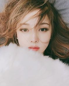 2019 most popular hair color, beautiful hair style with suitable hair color, more fashionable and young Korean Beauty, Asian Beauty, Pony Makeup, Beauty Makeup, Hair Beauty, Korean Make Up, Asian Makeup, Belleza Natural, Ulzzang Girl