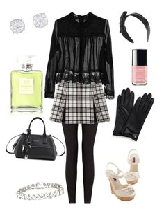 """""""Massie Block Outfit"""" by maja-pa ❤ liked on Polyvore featuring moda, Lyssé Leggings, Carven, Meadham Kirchhoff, Marc Jacobs, Tory Burch, Diesel, Kenneth Jay Lane y Chanel"""