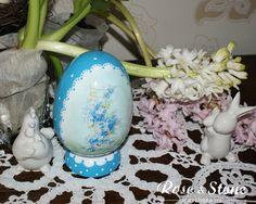 niezapominajkowe jajo