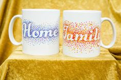 Want to personalize your or your friend's coffee mug? @paigehemmis shows you how with this easy DIY! Watch Home & Family at 10a/9c on Hallmark Channel for more DIYs!