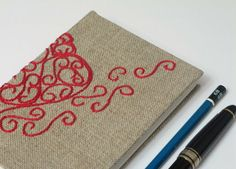 handmade book cover?