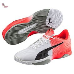 buy online 7e70c 67336 Puma evoSPEED Indoor 1.5 Chaussures de sport pour adulte Unisexe 11,5  Mehrfarbig - Chaussures