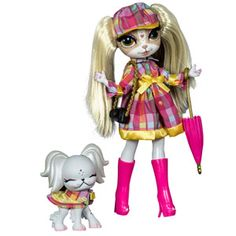 Pinkie Cooper and The Jet Set Pets Pinkie Cooper Doll, London Collection