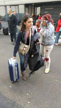 Dos afectadas por la explosiones en el aeropuerto de Bruselas.
