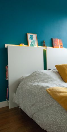 Tête de Lit et Dressing sur Mesure - Ikea Hack Ikea, Dressing, Furniture, Home Decor, Headboards, Creative Crafts, Interior Design, Home Interior Design, Arredamento