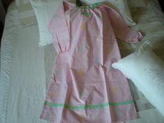 chemise de nuit rose pour fillette 8 ans : Autres par nany-made