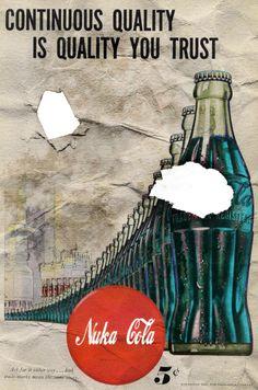 Nuka Cola Poster by Craig-38 on deviantART