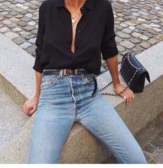 streetstyle Clothing, Shoes & Jewelry : Women : Clothing : Jeans http://amzn.to/2jOGBU9