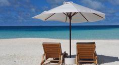 Patio Chair Cushions, Deck Chairs, Inflatable Chair, Acrylic Painting Tutorials, Happy Weekend, Beach Photos, Summer Beach, Relax, Outdoor Decor