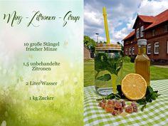 Rezept für Minz-Zitronen Eistee