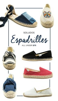 e3cfa0673dacf Espadrilles are THE summer shoe for a reason! And we have a ton of styles