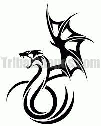 Resultado de imagen para tatuajes de dragones tribales                                                                                                                                                     Más