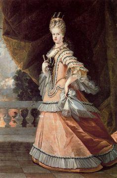 1708 Miguel Jacinto Meléndez - María Luisa Gabriela de Saboya