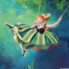 Anna...they used this same image for Tangled, and re-invented it for Frozen!
