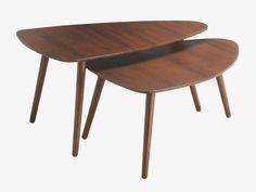 JOYCE BROWNS Wood Large acacia coffee table - HabitatUK