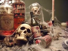 Halloween Wedding Table Decorations | halloween table decor