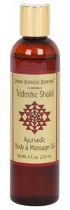 One of my favorite tridoshic massage oils