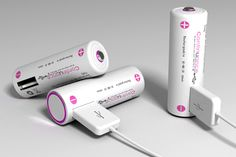 Continuance – AA Rechargeable Battery with USB Interface. Smart!
