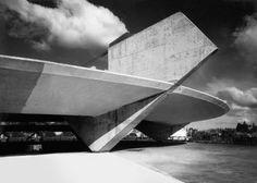 Stadion für den Athletikclub in Sao Paulo (1958). Foto: Jose Moscardi