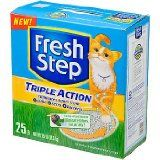 I want a  FRESH STEP CAT LITTER 261213 Fresh Step Triple Action Scooping Litter, 25 -Pound / http://thesenews.com/fresh-step-cat-litter-261213-fresh-step-triple-action-scooping-litter-25-pound/