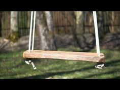A hanging seat is usually found in playgrounds for children. An empty and continuously oscillating swing is a common metaphor to illustrate melancholy, nosta.