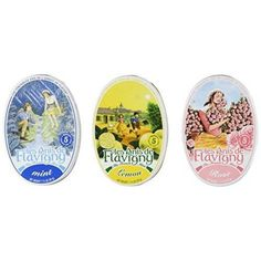 Abbaye De Flavigny - Mint, Lemon and Rose Flavored Candies From France 3 Pack 3x1.75oz  These little #French #candies, consisting of a mint, lemon or rose flavored grain coated in sugar, are perhaps the oldest in France, mentioned in a document as early as 872! In the 17th century, when these gourmet candies were manufactured by the Ursuline sisters, 6 months were needed to add and dry the successive coats of sugar.
