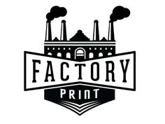 Factory Print by David Cran