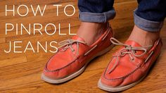How To Pinroll Jeans In 3 Easy & Quick Steps - Works for Chinos, Khakis, Pants