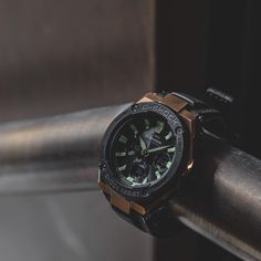G-Shock G-Steel GST-W120L with the latest hybrid leather band