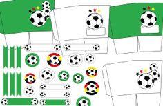 Fußball-Deko basteln