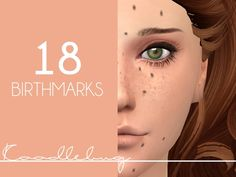 Mod The Sims - Birthmarks(18 total) [Male&Female]