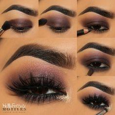 Eye Makeup Tips.Smokey Eye Makeup Tips - For a Catchy and Impressive Look Natural Eye Makeup, Eye Makeup Tips, Makeup For Brown Eyes, Smokey Eye Makeup, Makeup Goals, Eyeshadow Makeup, Makeup Eyes, Eyeshadows, Makeup Inspo