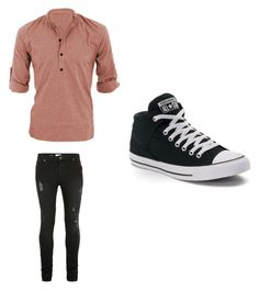 """""""Untitled #460"""" by jamiesowers14 on Polyvore featuring Topman, Converse, men's fashion and menswear"""