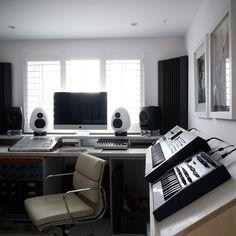 Small Space Home Recording Studio | Loft Conversion Ideas (houseandgarden.co.uk)