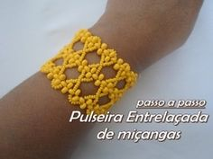 NM Bijoux - Bracelet Wire Mesh Beads - YouTube