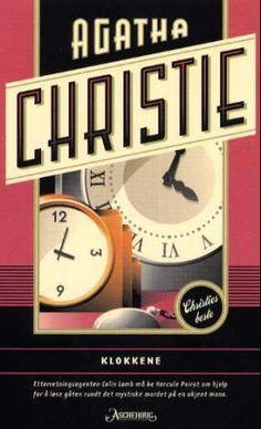 """Klokkene"" av Agatha Christie Agatha Christie, Clocks, Reading, Watches, Reading Books, Clock"