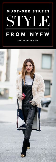 All the must-see street style looks from NYFW 2015—major winter outfit inspiration ahead!