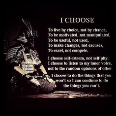 # WISE WARRIOR'S QUOTE