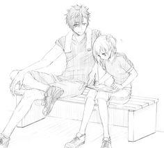 ok so kuroo and yachi are p cute