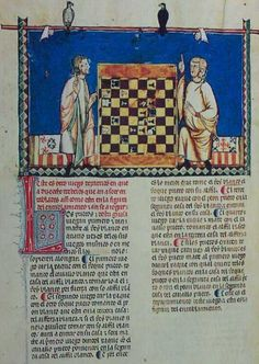 Chess Problem #40 F30V: Two men with hawks
