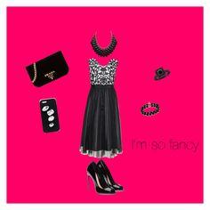 """Black tie affair"" by emorris1213 on Polyvore featuring Belk & Co., STELLA McCARTNEY and Prada"
