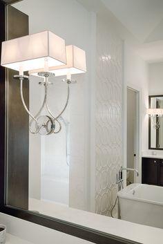 "Bathroom in Divco Custom Homes ""Antigua"" model in Miromar Lakes. Divco Homes | Naples, FL | Divcohomes.com"