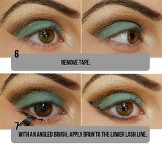 Top Green & Brown Eye Makeup Tutorial