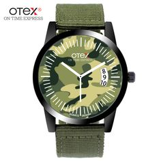 >> Click to Buy << ot03 Hot sale Fashion Military Pilot Aviator Army Style  canvas Band Quartz Analog  Outdoor Sport Men watch #Affiliate