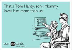 Ahahah! Tom Hardy <3