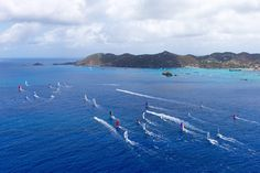 The racing, and the night life, are always hot during Les Voiles de St. Barth.