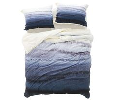 Take the ombre trend to college with this ocean-inspired duvet designed by artist Monika Strigel. The calming color palette will send any hard-working student off to dreamland peacefully. And this product does good, too—a portion of the purchase of this piece will go toward supporting art communities globally.